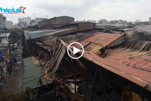 Hai ngày sau vụ cháy công ty Rạng Đông: Nhà xưởng đổ nát, nhà dân cũng hoang tàn