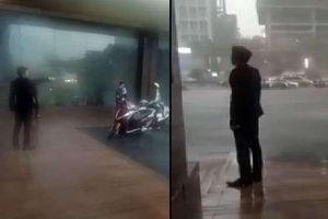 Đuổi người trú nhờ giữa giông lốc khủng khiếp, bảo vệ khách sạn Grand Plaza bị dư luận gọi là kẻ máu lạnh