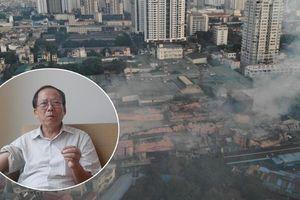 Khuyến cáo không ăn thực phẩm trong bán kính 1km sau vụ cháy Công ty Rạng Đông: Chuyên gia nói gì?