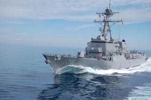 Chiến hạm Mỹ tiếp tục tuần tra bảo vệ tự do hàng hải ở Biển Đông
