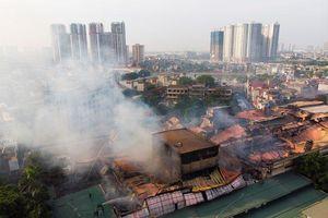 Bộ Tài nguyên môi trường cảnh báo nguy cơ sau vụ cháy Công ty Rạng Đông