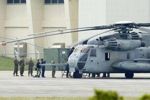 Trực thăng quân sự Mỹ tại Nhật lại bị rơi cửa sổ