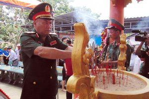 Khánh thành Nhà bia tưởng niệm Anh hùng, liệt sĩ tại Hóc Thượng, Quảng Nam