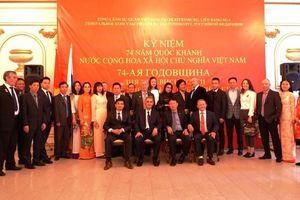 Hoạt động mừng Quốc khánh Việt Nam tại Ekaterinburg, LB Nga