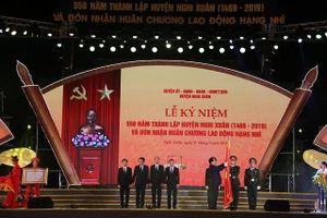Huyện Nghi Xuân long trọng tổ chức Lễ kỷ niệm 550 năm ngày thành lập