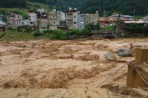 Cảnh báo lũ quét và sạt lở đất khu vực miền núi phía Bắc