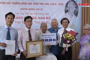 Bộ sách 'Khảo cổ học Nam bộ' đoạt Giải thưởng Trần Văn Giàu