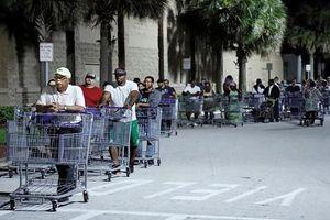 Dân Florida tích trữ thực phẩm cả tuần vì bão 'quái vật' Dorian