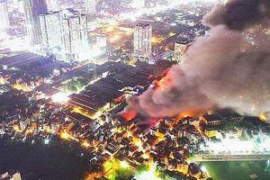 Thông tin về chất lượng môi trường sau vụ cháy công ty Rạng Đông