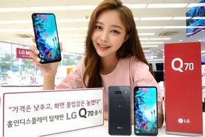 Q70 ra mắt: lần đầu LG làm màn hình đục lỗ, giá 450 USD