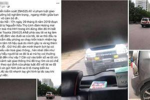Vụ tông đuôi ô tô dừng đèn đỏ: Trưởng khoa Bệnh viện Nội tiết TW hay tài xế nói dối?