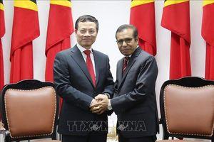 Đặc phái viên của Thủ tướng Chính phủ Việt Nam kết thúc chuyến thăm Timor Leste