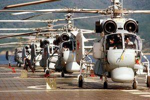 Sức mạnh săn ngầm tuyệt đỉnh của trực thăng triển khai cùng tàu Quang Trung