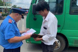 TP.HCM: Xử phạt xe khách không niêm yết giá trong bến xe An Sương