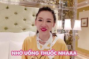 Hớn hở đeo túi hiệu Trấn Thành tặng, Hari Won nhận lời phán từ chồng: 'Trông như bán vé số'