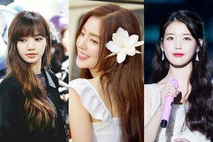 Học lỏm Blackpink Lisa, Red Velvet Irene, IU bí quyết hô biến mái tóc dài nhạt nhẽo trở nên ấn tượng