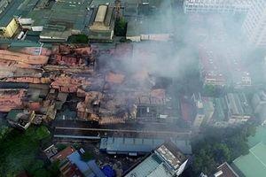Bộ TN&MT cảnh báo dùng nước, thực phẩm sau vụ cháy nhà máy Rạng Đông