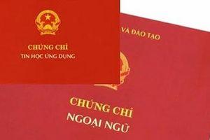 49 đơn vị phải dừng tổ chức thi cấp chứng chỉ ngoại ngữ, tin học