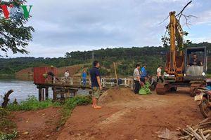 Đăk Nông đã khắc phục xong sự cố rò rỉ thân đập thủy lợi