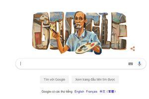Google Doodle vinh danh 99 năm ngày sinh họa sĩ Bùi Xuân Phái