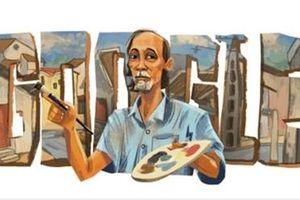 Cố họa sĩ Bùi Xuân Phái được Google vinh danh