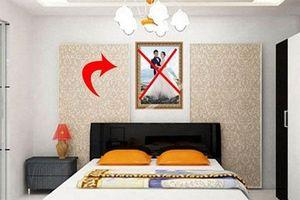 Phòng ngủ mắc phải lỗi phong thủy tai hại này bảo sao vợ chồng tan đàn xẻ nghé