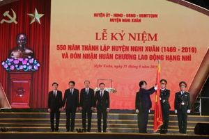 Kỷ niệm 550 năm thành lập huyện Nghi Xuân