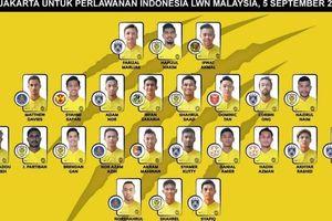 Tuyển Malaysia gọi toàn 'hàng khủng' đá vòng loại World Cup 2022