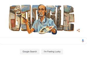 Google vinh danh họa sĩ Bùi Xuân Phái bằng biểu tượng Google Doodles