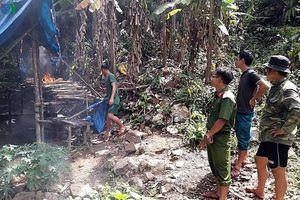 'Vàng tặc' lộng hành trong vùng lõi Khu bảo tồn thiên nhiên Sông Thanh