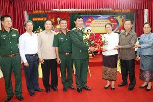 Chủ tịch Quốc hội Lào thăm Binh đoàn 11