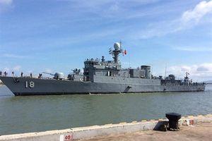 Tàu 18 của Hải quân Việt Nam đã được nâng cấp trước tập trận ASEAN