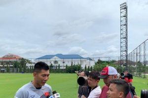 Thủ môn Tuấn Mạnh: 'Đội tuyển Việt Nam đã nghiên cứu kỹ về Chanathip'