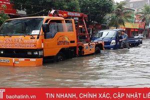 Xử lý ra sao khi ô tô đi qua đường ngập nước?