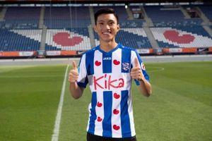 Đoàn Văn Hậu chính thức ra mắt CLB SC Heerenveen, mang áo số 15