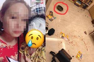 Chồng cầm chảo đánh vợ, con gái hơn 3 tuổi bị vạ lây phải khâu 5 mũi