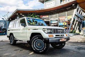Thợ Việt hồi sinh xác Toyota Land Cruiser như mới