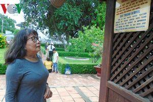 Đông đảo du khách đến thăm nơi Bác Hồ dạy học