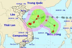 Áp thấp nhiệt đới kép quần thảo Biển Đông, hướng thẳng đất liền nước ta