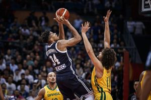 Gục ngã trước Brazil, Hy Lạp đứng trước nguy cơ về nước sớm tại FIBA World Cup 2019