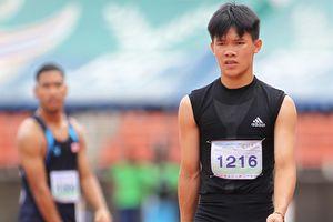 Sân đấu của tuyển Việt Nam bận tổ chức giải điền kinh