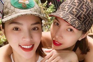 Kỳ Duyên, Minh Triệu và dàn sao Việt chia sẻ hình ảnh ngắm pháo hoa