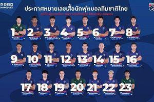 'Messi Thái' từ bỏ số áo quen thuộc trước trận gặp Việt Nam