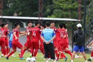 Đội tuyển Việt Nam tập luyện hào hứng, sẵn sàng 'bắt chết' Messi Thái
