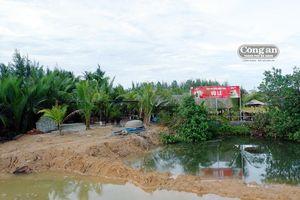 Nhiều công trình xây dựng trái phép lấn chiếm khu du lịch dừa Bảy Mẫu