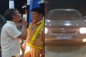 Tài xế biển xanh chửi bới, tát cảnh sát giao thông Thanh Hóa bị phạt 2,5 triệu đồng