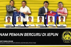 Malaysia gửi 6 tài năng trẻ sang Nhật Bản để 'nuôi mộng bá vương'