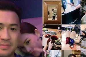 Vừa công khai yêu, em chồng Hà Tăng làm bao người xuýt xoa khi hết tặng bạn gái hotgirl đồ hiệu lại cùng 'vi vu' du lịch