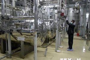 Iran có thể nối lại hoạt động làm giàu urani ở cấp độ 20% trong 2 ngày