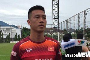 Tiền vệ Huy Hùng: Tuyển Việt Nam phải tập trung 'bắt chết' Messi Thái